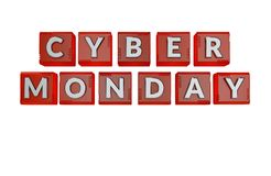 Cyber Monday Sale Concept stock illustration