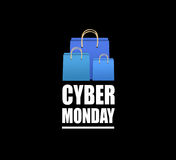 Cyber Monday sale Stock Image