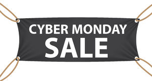 Cyber Monday SALE Label Vector Illustration Stock Image