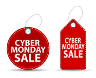 Cyber Monday SALE Label Vector Illustration Stock Images