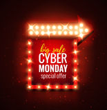 Cyber-monday vector illustration