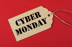 Cyber Monday sale tag Royalty Free Stock Image
