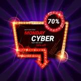 Cyber Monday Sale stock illustration