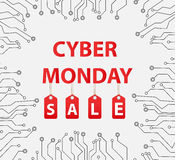 Cyber Monday sales, Cyber Monday Super offer discounts. Royalty Free Stock Photos