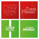 Cyber monday Stock Image