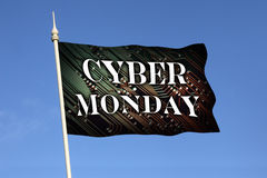 Cyber Monday - Online Shopping - Special Offer stock photo