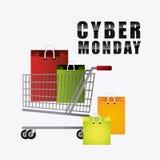 Cyber monday shopping season Royalty Free Stock Photo