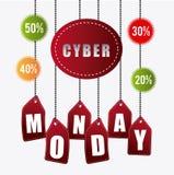Cyber monday shopping season Stock Photography