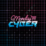 Cyber-Montag-on-line-Einkaufen und Marketing-Konzept Stockfotos
