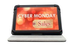 Cyber-Montag-Sonderverkauf-Einkaufszeichen Stockfoto
