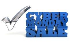 Cyber-Montag-Verkauf Lizenzfreies Stockbild