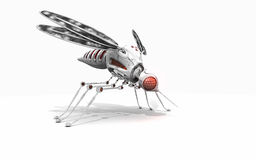 Cyber mosquito Royalty Free Stock Image