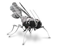 Cyber-mosquito front Royalty Free Stock Photography
