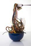 cyber noodles Στοκ Εικόνες