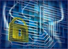Cyber ochrona Fotografia Stock