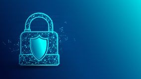 Cyber ochrona i k? ilustracja wektor