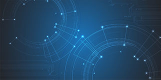 Cyber ochrona i ochrona informaci lub sieci Przyszłość tec Obraz Royalty Free