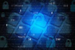 Cyber ochrony pojęcie fotografia royalty free