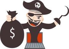 Cyber Pirates Stock Photos