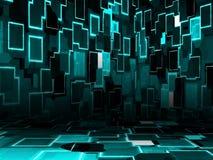Cyber pokój royalty ilustracja
