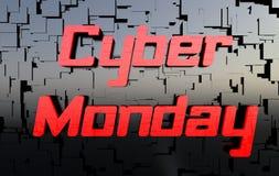 Cyber Poniedziałek royalty ilustracja