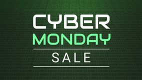 Cyber Poniedziałek przeciw cyfrowemu tłu ilustracji