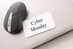 cyber Poniedziałek zakupy fotografia stock