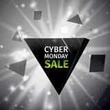Cyber Poniedziałku sprzedaż Obrazy Royalty Free