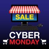Cyber Poniedziałku tło Zdjęcie Royalty Free