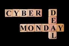Cyber Poniedziałku transakcja fotografia royalty free
