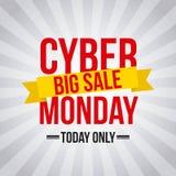Cyber Poniedziałku transakcje ilustracja wektor