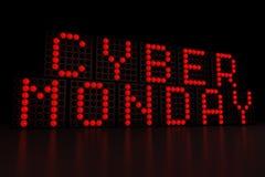 Cyber Poniedziałek Fotografia Stock
