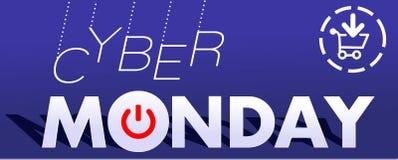 Cyber Poniedziałek 1 Zdjęcie Stock