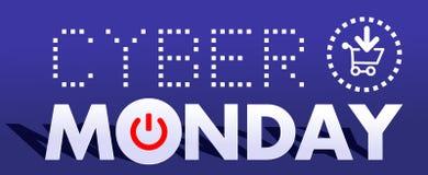 Cyber Poniedziałek 9 Zdjęcie Royalty Free