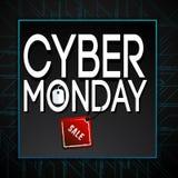 Cyber Poniedziałek Zdjęcie Stock
