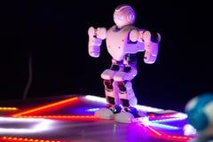 Cyber prototype on Robot EXPO Robopolis in Minsk, Belarus. Minsk, Belarus - 26, february: Cyber prototype on Robot EXPO Robopolis in Minsk, Belarus stock photos