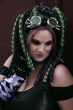 Cyber Punkhaar stock foto's