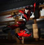 Cyber Samurai Stock Images