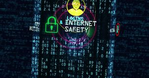 Cyber security antivirus concept