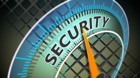 Cyber security concept Stock Image