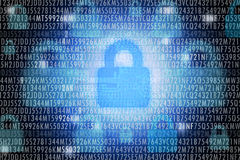 Cyber security concept Royalty Free Stock Images