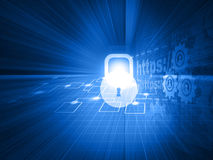 Cyber security concept Royalty Free Stock Image