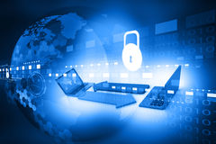 Cyber security concept Royalty Free Stock Photography