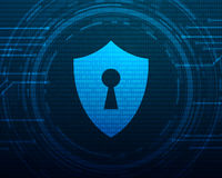 Cyber Security Concept Stock Images