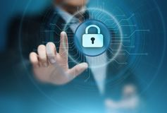 Cyber Security Data Protection Business Technology Privacy concept Stock Image
