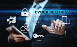 Cyber Security Data Protection Business Technology Privacy concept Stock Photography