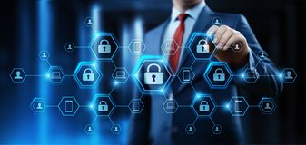 Cyber Security Data Protection Business Technology Privacy concept Royalty Free Stock Photo