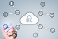Cyber security, Data protection, information safety and encryption. Stock Photo
