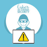 Cyber security Royalty Free Stock Photography