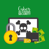 Cyber security Royalty Free Stock Photo